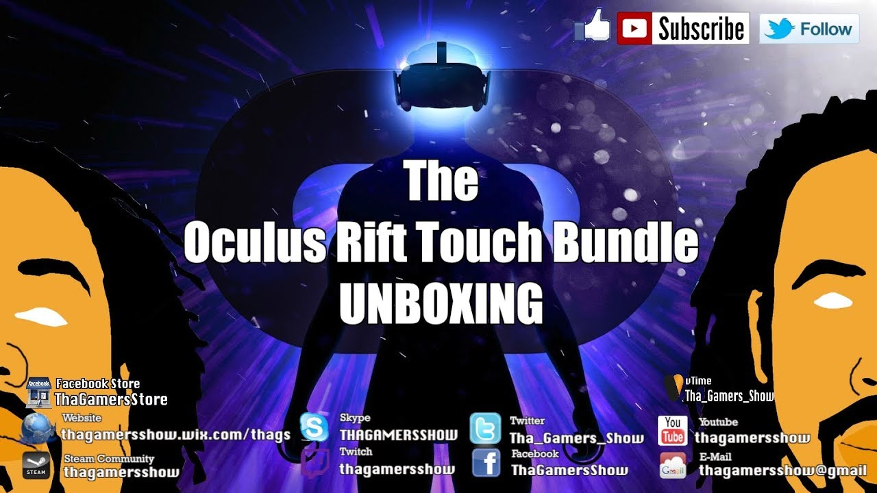 c2c5c68daf3e SE04EP226  Oculus Rift Touch Bundle Unboxing....... No Xbox One Controller