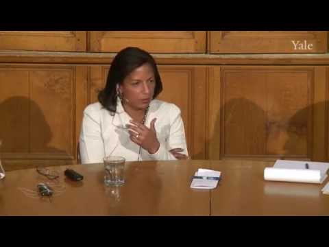 Ambassador Susan Rice, Chubb Fellowship at Yale