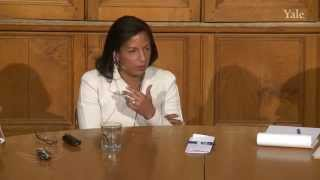 Ambassador Susan Rice, Chubb Fellowship at Yale