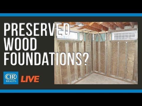 What Sellers Need to Know About Preserved Wood Foundations