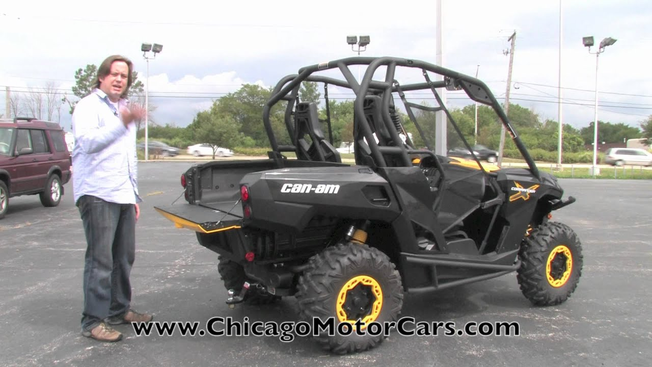 BRP Can-Am Commander 1000 X Review with Chris Moran from Chicago ...