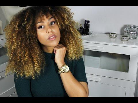 Haarschnitt auffrischen | Spitzen schneiden | Afrohaar und Locken