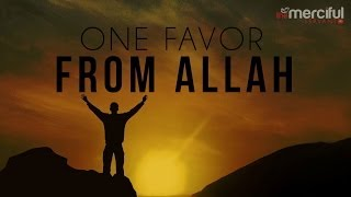 One Favor From Allah - Islam - MercifulServant