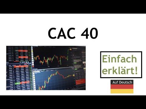 CAC 40 Aktienindex Frankreich einfach erklaert
