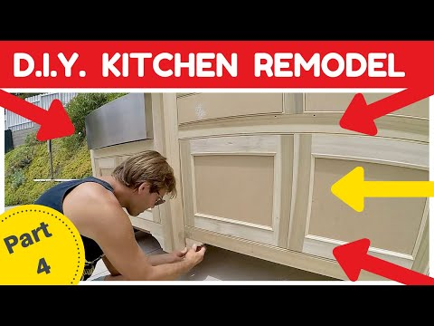 DIY KITCHEN REMODEL – Detail work and Finishing Touches – Part 4