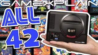 Sega Genesis Mini: All 42 Games Gameplay