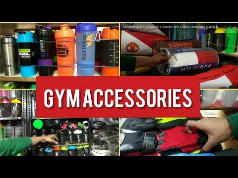 Shakers, Belt, Gloves, Drum Bags | Cheapest Gym Accessories I Pan Mandi, Sadar Bazar.