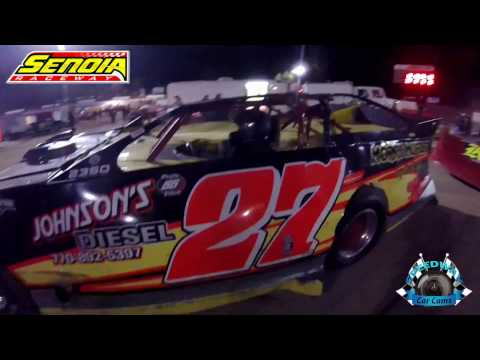 #27 Glenn Morris - Limited Late Model - 11-12-16 - Senoia Raceway - In-Car Camera