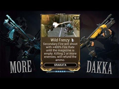 Warframe - Wild Frenzy (More Dakka) thumbnail