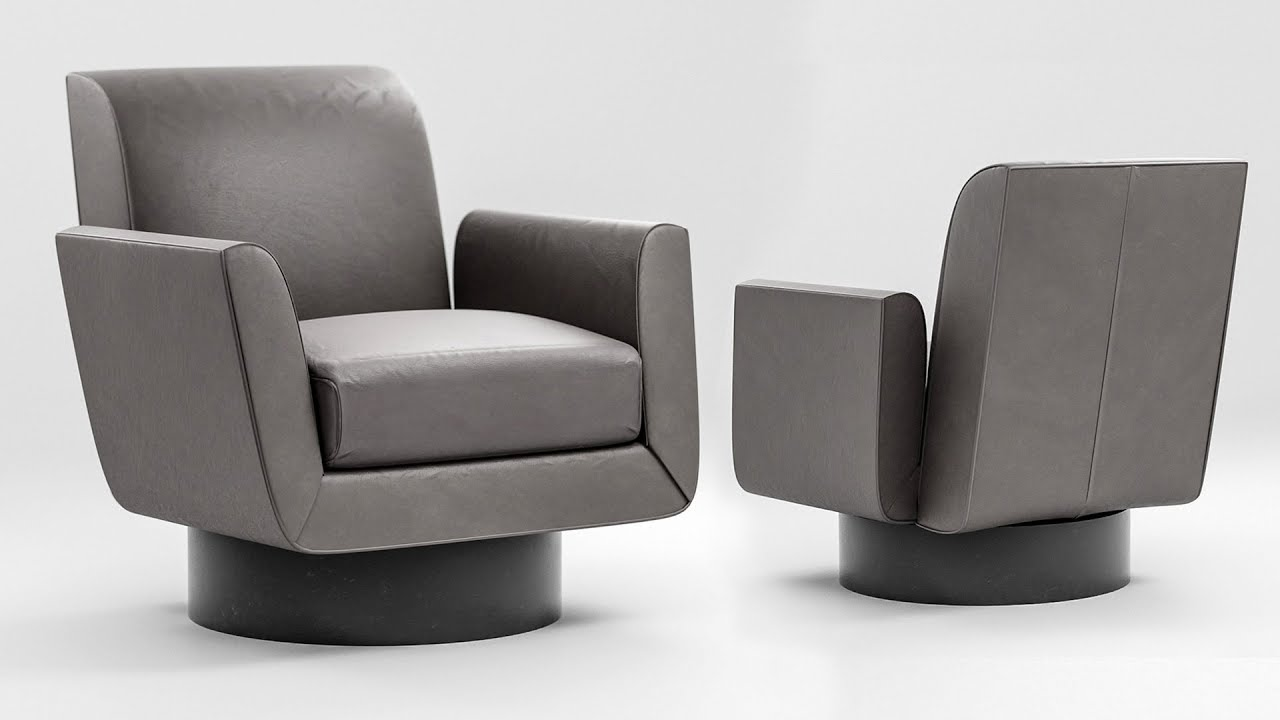 Photorealistic Chair In Blender Modeling Tutorial 1 Of 2 YouTube