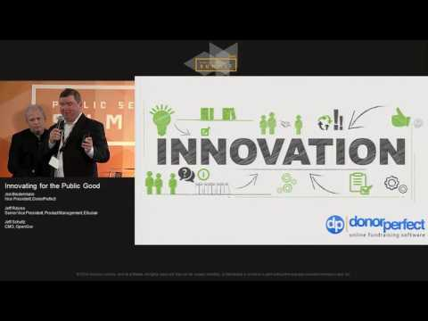 Innovating for the Public Good  | AWS Public Sector Summit 2016