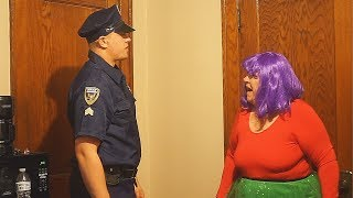 ANGRY GRANDMA GETS ARRESTED!