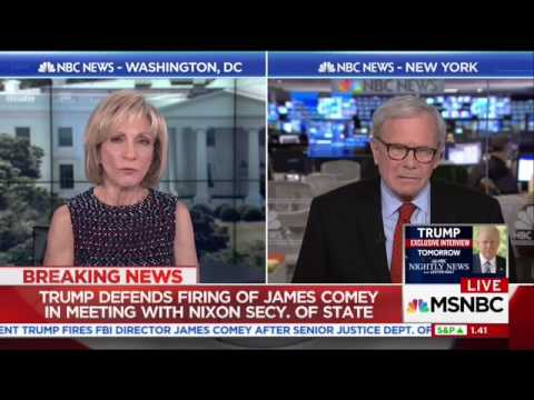 Tom Brokaw: I Haven't Met Anybody Who Thought Comey was Doing a Good
