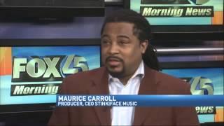 Janice B. & Maurice Carroll on Fox 45 Morning News Baltimore