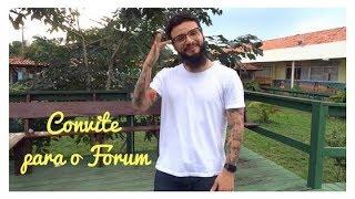 Convite para o Fórum Internacional