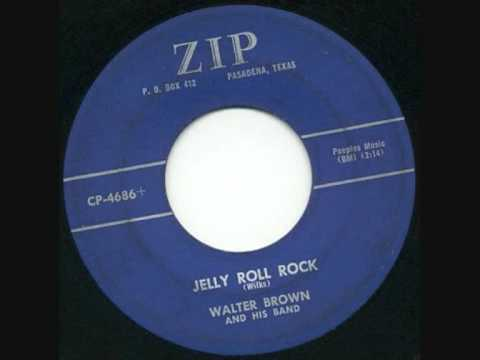 Walter Brown, Jelly Roll Rock