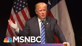 President Donald Trump Says He Doesn't Care About Being Popular | The 11th Hour | MSNBC