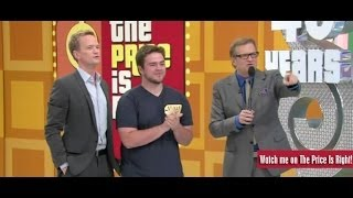 "Adam Bradshaw on ""The Price Is Right"""