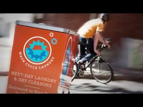 Wash Cycle Laundry's Next Day Delivery Service