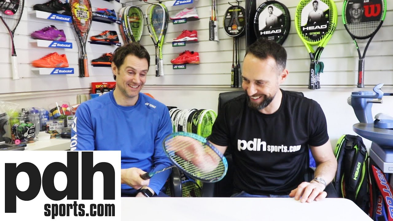Introduction to the new Yonex NANOFLARE 700 badminton racket with Lee Clapham at PDHSports.com