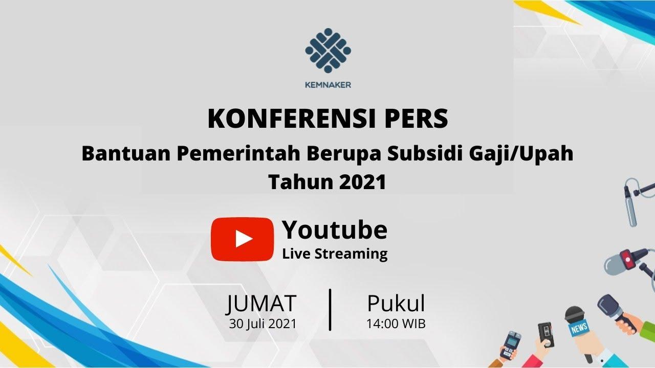 Download [LIVE] PENYERAHAN DATA CALON PENERIMA BSU TAHUN 2021