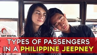 Types of Passengers in a Philippine Jeepney