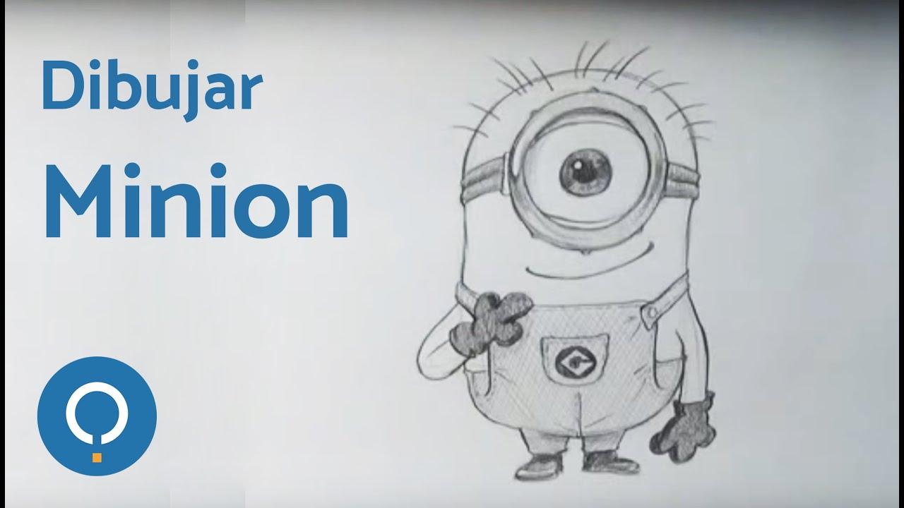 Cómo Aprender A Dibujar Al Minion De Un Ojo De Gru