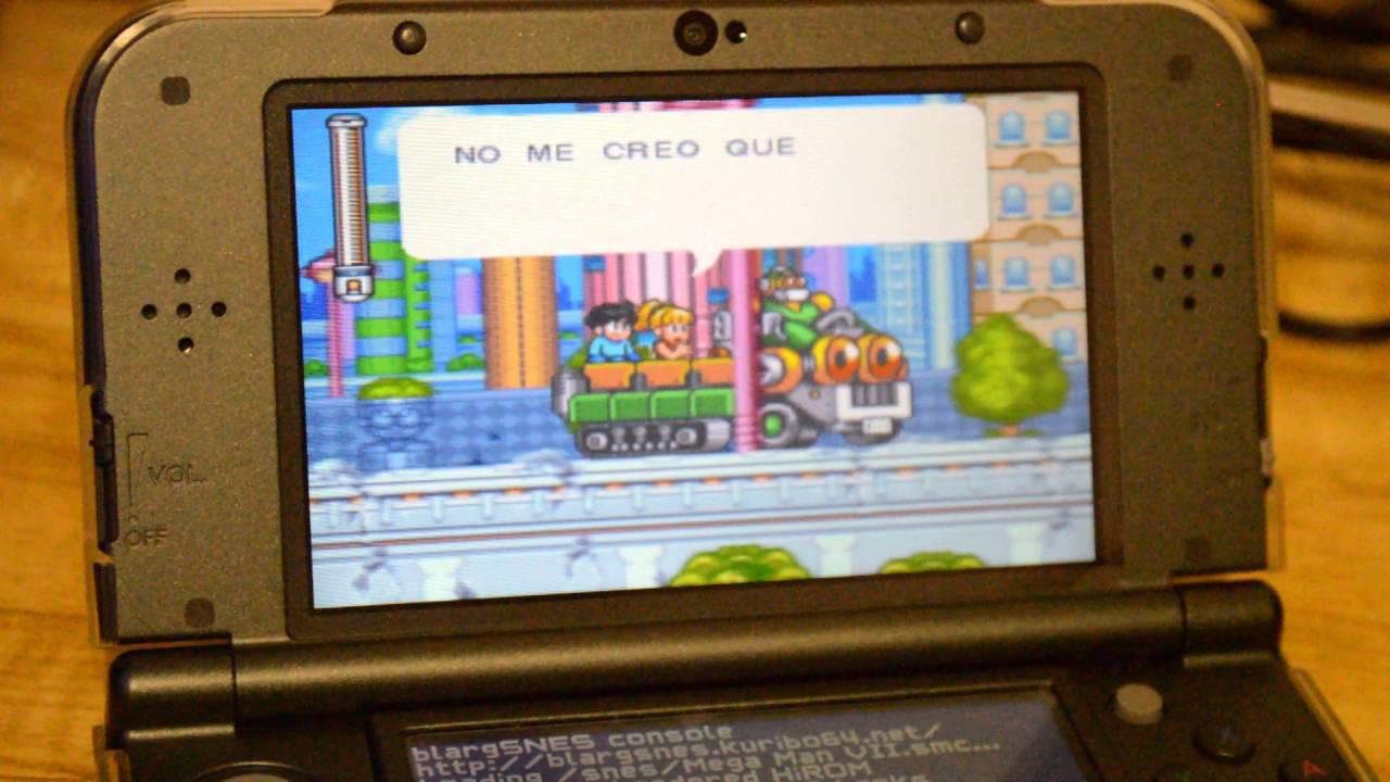 Emulador de Super Nintendo para New Nintendo 3ds