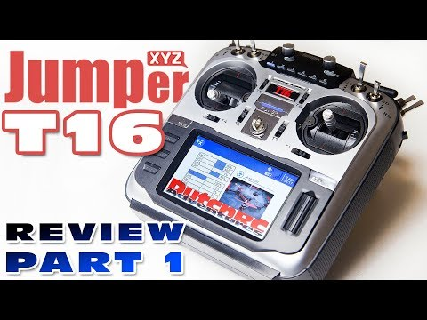 Jumper T16 Multi Protocol Radio - Review Part 1 - YouTube