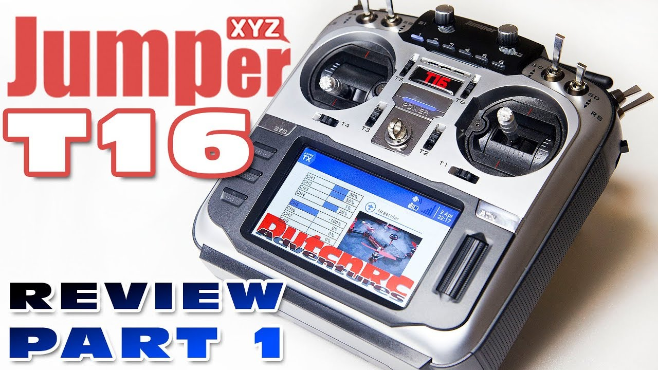 Jumper T16 Multi Protocol Radio - Review Part 1