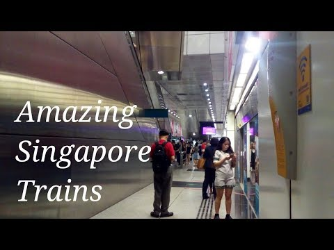 Travel Vlog42- Flawless Train Rides In Singapore