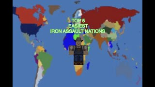 Top 5 Easiest Starting Nations Of Iron Assault (Iron Assault, My Opinion)