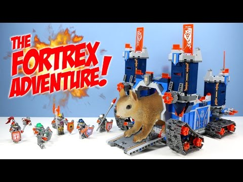 LEGO Nexo Knights The Fortrex Set 70317 Speed Build Review Adventure