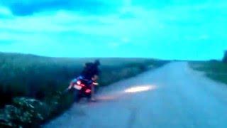 Обучение езды на мотоцикле для чайников