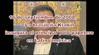 ¿Asi que Brasil es el ejemplo, con Klabin incluída Alfredo ?