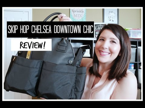 What's in my diaper bag | SkipHop Satchel Review
