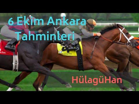 6 Ekim Ankara Altılı At Yarışı Tahminleri ve Altılı Tahminleri Bankoları - TJK