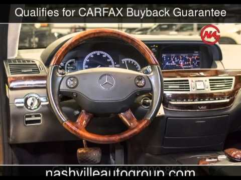 2007 mercedes benz s600 w pano roof just serviced 5 5l for Nashville mercedes benz used cars