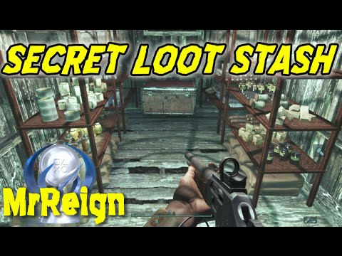 Fallout 4 - Far Harbor - CRANBERRY ISLAND BOG - SECRET LOOT STASH - LOADS OF RESOURCES