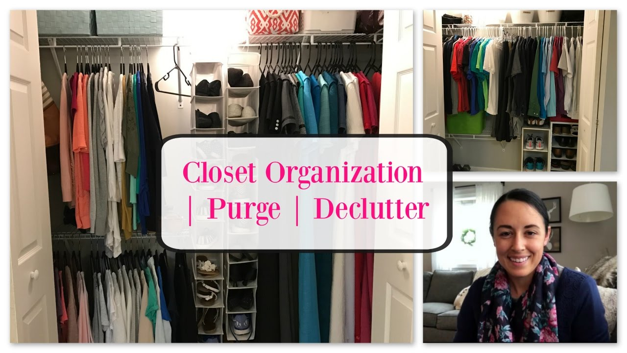 ORGANIZE WITH ME | Master Bedroom Closet ORGANIZATION | Lynette Yoder