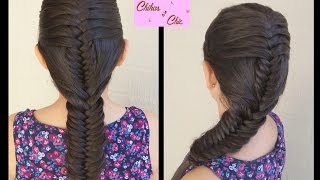 Matched Fishtail Braid | Braided hairstyles | Cute Hairstyles