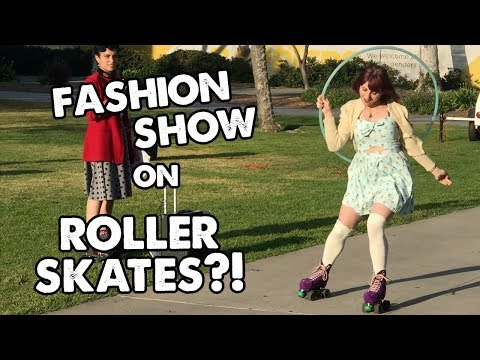 Cal State Rollers Vintage Fashion Show ON WHEELS! | Planet Roller Skate