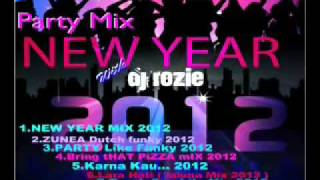 NEW Year Party Mix 2012 with Dj Rozie part 1