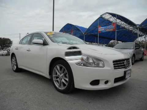 2011 White Nissan Maxima Youtube
