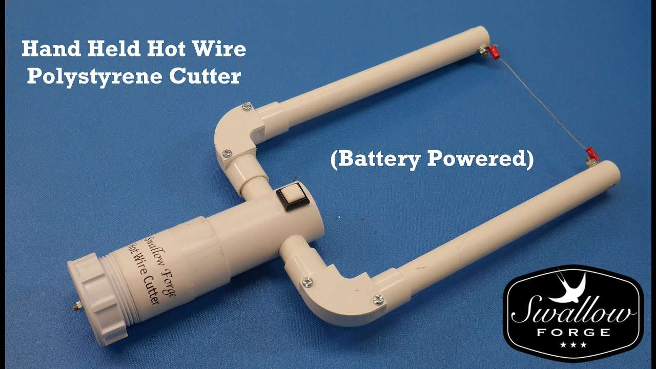 Hand Held Hot Wire Cutter for foam - Polystyrene -Battery Powered ...