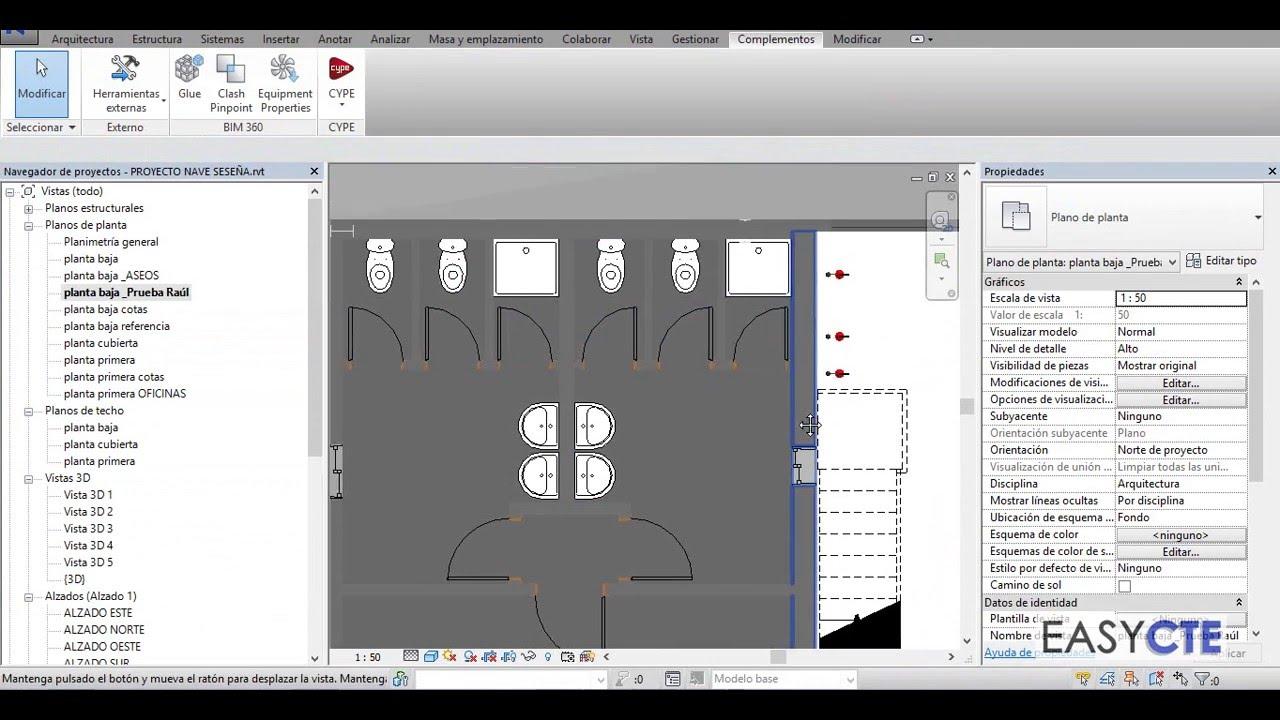 Cómo hacer mediciones REVIT ARQUIMEDES mediante notas clave. - YouTube