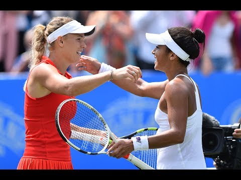 2017 Aegon International Semifinals | Caroline Wozniacki vs Heather Watson | WTA Highlights