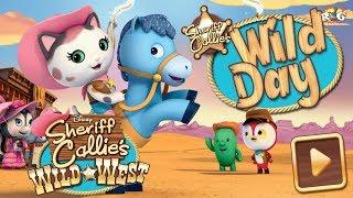 Sheriff Callie en el Oeste | Un Día Salvaje | Disney Junior
