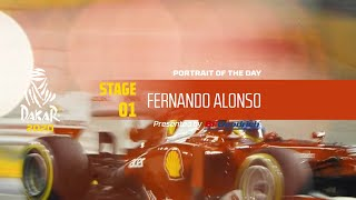 Dakar 2020 - Stage 1 - Portrait of the day - Fernando Alonso