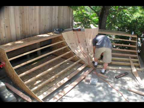 how to build a kciker ramp
